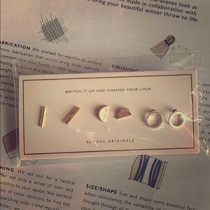 Triple Set Earrings by Foxy Originals